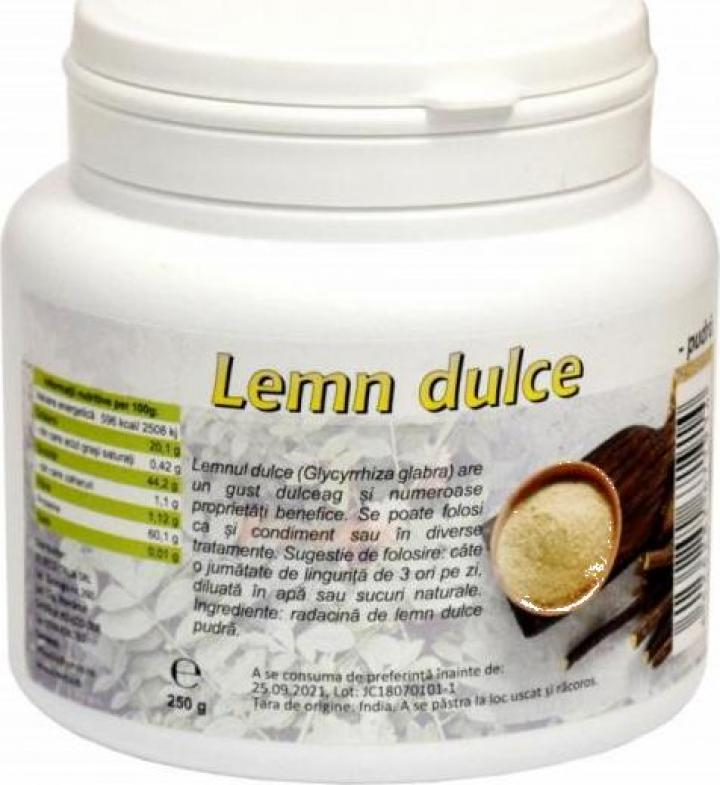 Pulbere (pudra)Lemn dulce 250g