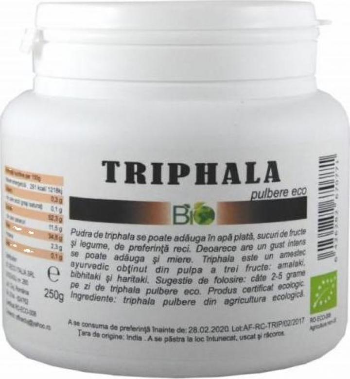 Pudra Triphala, bio 250g