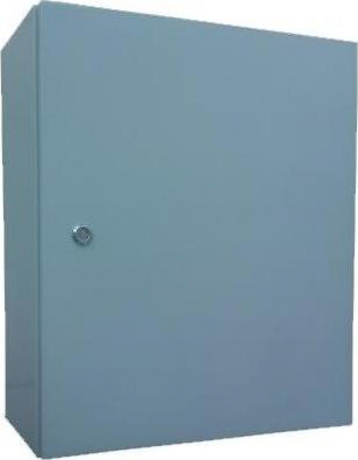 Panou electric metalic D:40x50x20 cm, culoare gri, IP54