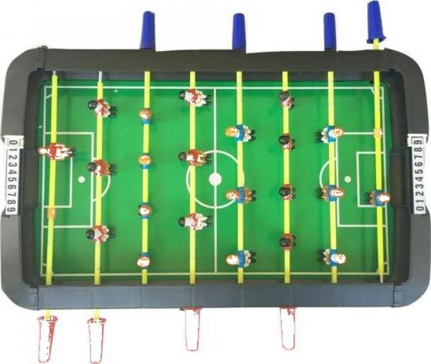 Joc fotbal de masa cu toate accesoriile Soccer Challenge