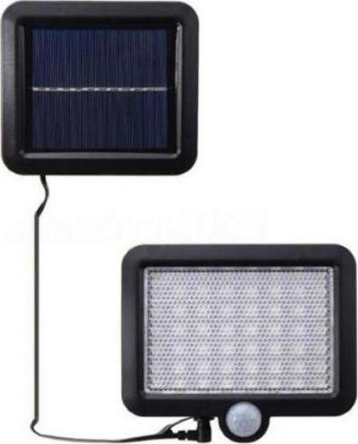 Lampa 56LED alimentare solara, cu senzori 1 faza On/Off SLF5