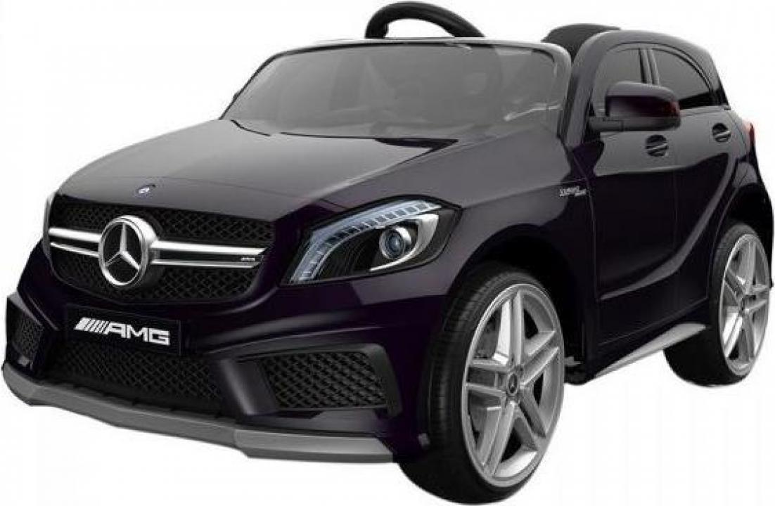 Jucarie masina cu telecomanda Mercedes Benz A45 AMG neagra