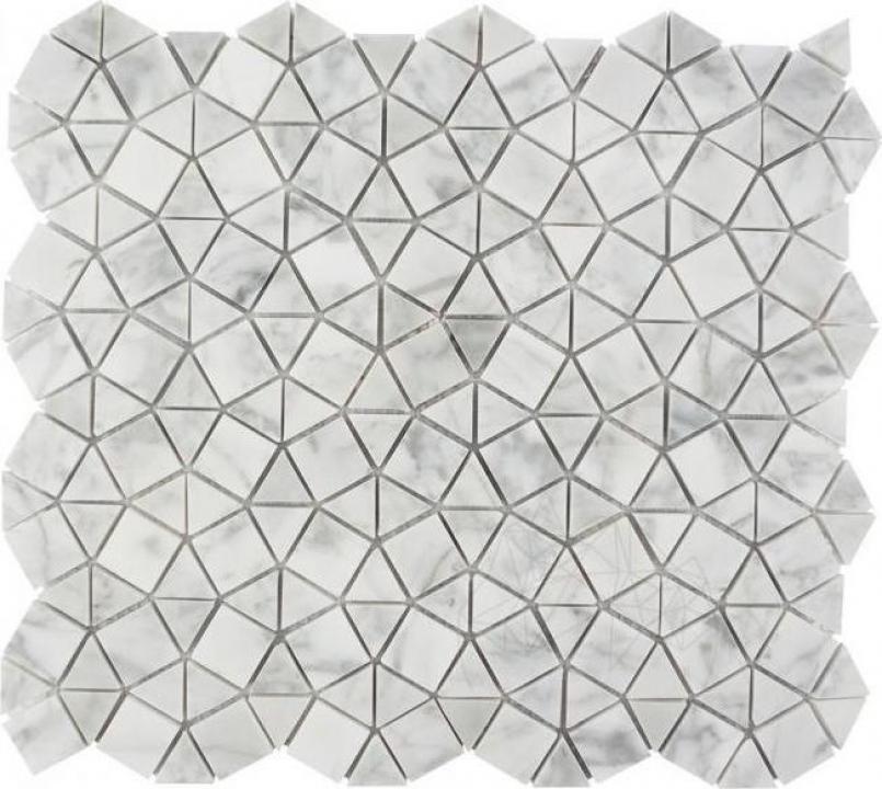 Mozaic marmura Volakas Plaza mata
